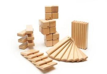 木制玩具,如益智积木:          用容器接200毫升的水,烧热