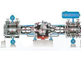 从两列对称平衡型125吨往复式压缩机,到四列对称平衡型125吨往复式图片