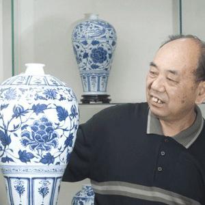 高仿,自创新 景德镇陶瓷名家黄云鹏