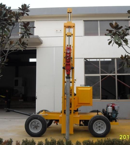 公路钻孔机yz150新型液压钻孔机图片