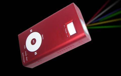 携带型投影仪(ce-08)图片