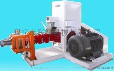 章丘海源機械單螺桿250-300kg玉米大豆膨化機