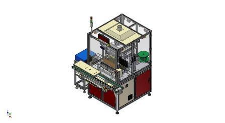 龙门式自动焊锡机