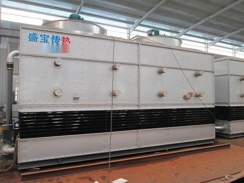使用闭式冷却塔的显著特点是无水垢,不结水垢(回圈水质稳定),换热效率