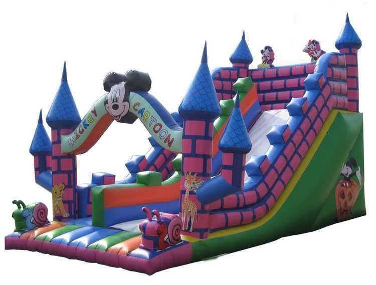 佳乐奇40平儿童充气城堡价格多少钱广场大型蹦蹦