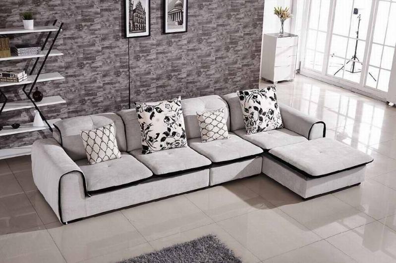 现代小居简约型布艺组合沙发