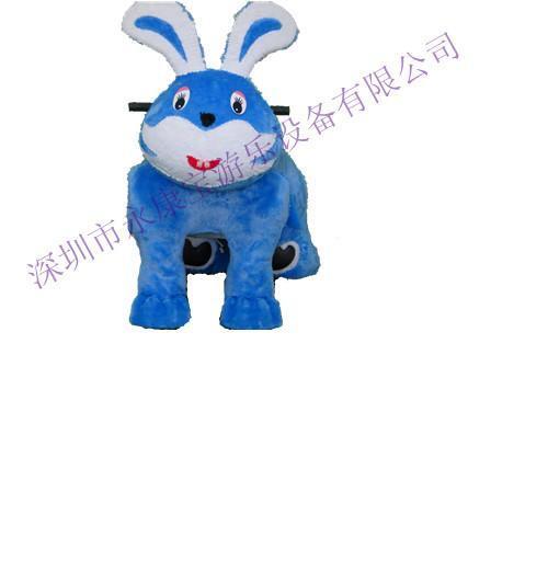 卡通玩具车依依兔子