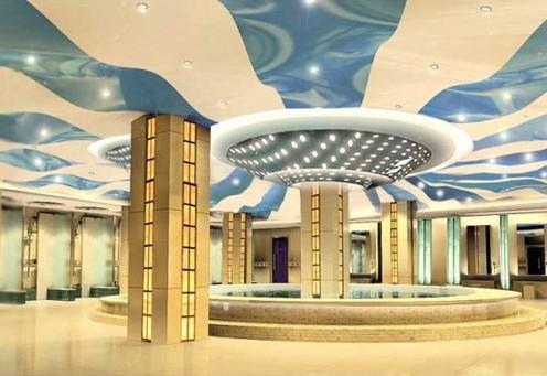 产品目录 建筑和装饰材料 吊顶隔断 软膜天花 03 酒店大堂吊顶