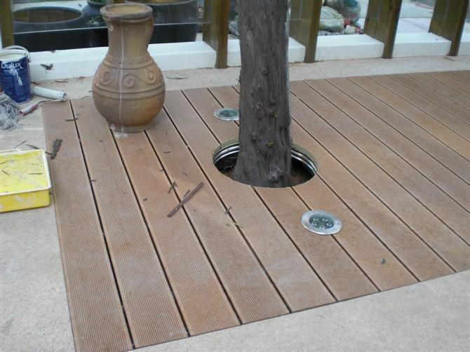 实芯木塑地板【批发价格