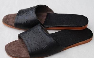 家居皮拖鞋(男式2)