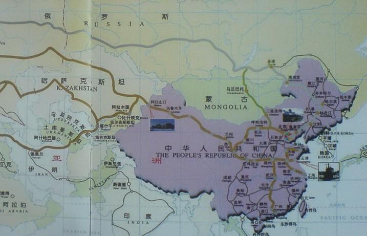 连云港到阿拉木图铁路运输