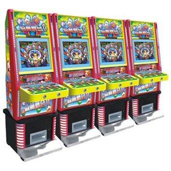 森林舞会豪华8台连线游戏机图片