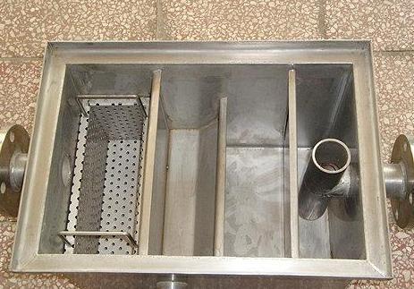 厨房隔油池 厨房隔油池做法   02s701化粪池标准图集   隔