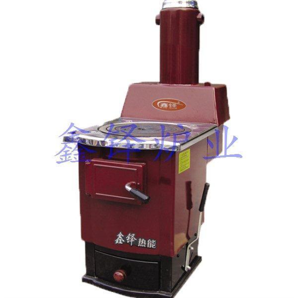 反燒式采暖爐結構圖