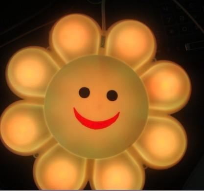 太阳花 可爱笑脸图片