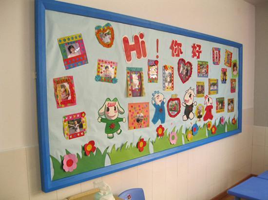 幼儿园墙面边框装饰图片