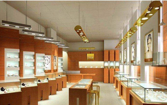 专业设计制作展示柜,茶叶