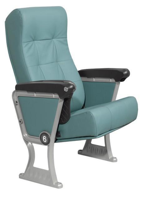 扶手的结构:金属框架,扶手的骨架,也基本上是整个礼堂椅的支撑连接件.