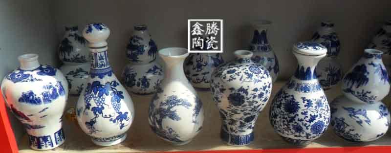 陶瓷酒瓶, 景德镇陶瓷