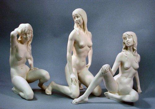 真人高美女雕塑