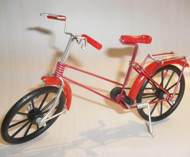手工自行车模型(1)