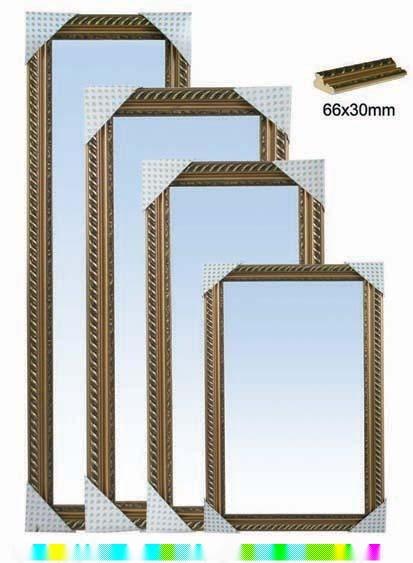 立体镜框矢量图