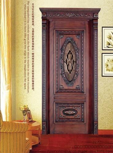 外贸出口实木门 实木复合门室内门