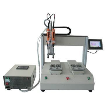 1,结构组成:主要由螺丝自动输送系统,x-y-z 移动平台,控制系统及锁