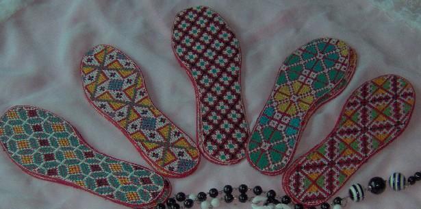 纳鞋垫花样图案大全十字绣鞋垫花样图案十字绣鞋垫