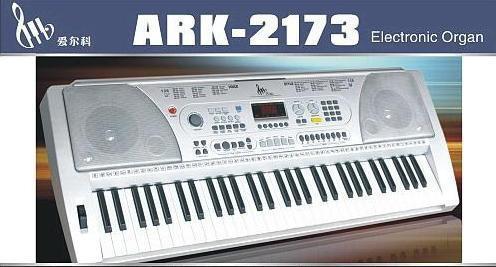 61键电子琴琴键说明