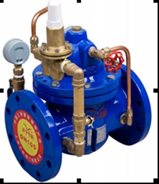 200x减压稳压阀用於生活给水消防给水及其他工业给水系统,通过调节图片