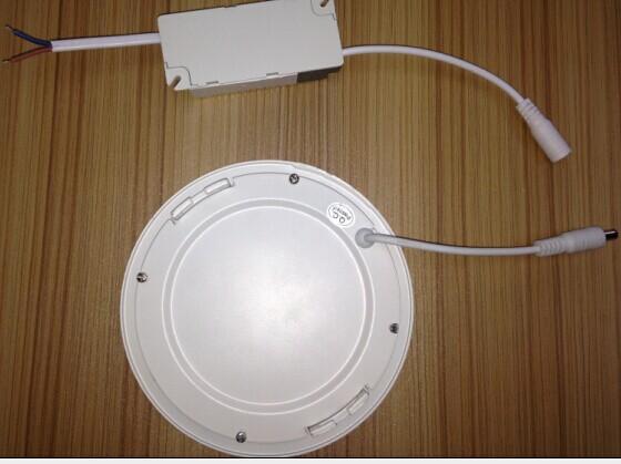 圆形暗装超薄面板led灯