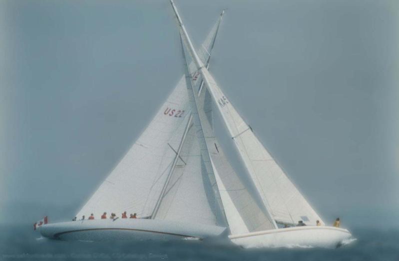海上船帆简笔画