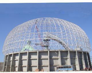 球面网壳和预应力结构形式等