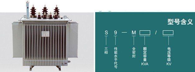 油浸式变压器(s9)图片