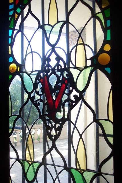 欧式玻璃彩色镶嵌玻璃彩色玻璃穹顶玻璃和修复彩绘