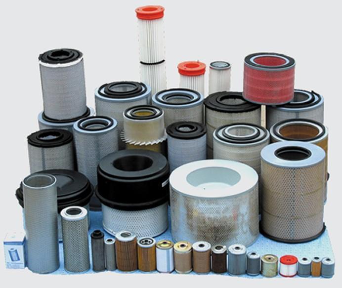空气滤清器的类型     按照滤清原理,空气滤清器可分为过滤式