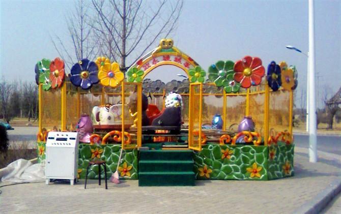 欢乐喷球车儿童游乐设备