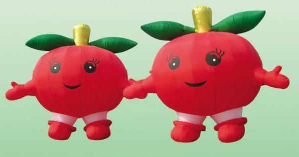 卡通气模-红苹果
