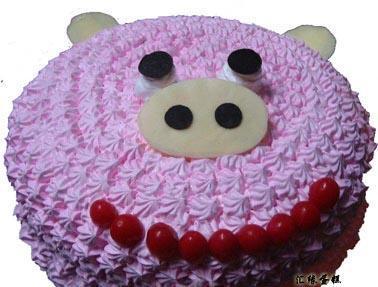 3d立体动物蛋糕图片