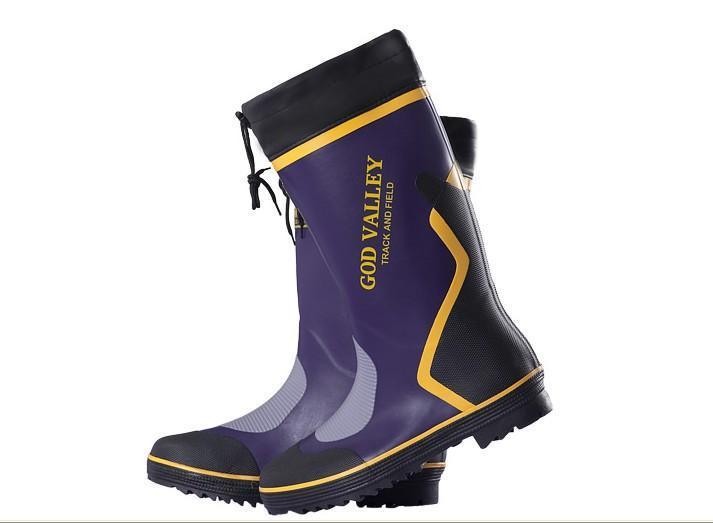 男式橡胶雨鞋