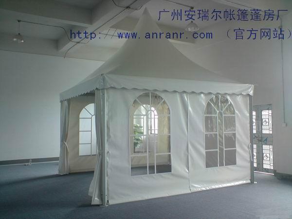 帐篷的主体结构采用高强度铝合金型材