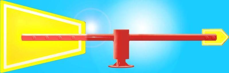 MWS-LED夜光金屬風向標簡介      MWS-LED夜光金屬風向標安放在室外,用於指示風向。金屬結構,完全實現了規範化、專業化、標準化生產,外表面經熱浸鍍鋅和噴塑防腐處理,使用壽命較長。風向標前翼和尾翼表面裝有LED環保節能燈帶。   廣泛應用於石油、化工、有毒氣體等環境,時刻指示氣體的流動方向,爲人員疏散確定安全方向,是一種重要的安全標誌,同時又可以成爲城市、廣場、廠區的一項亮點工程。      產品參數      ?整體高:350mm      ?指向標長度:1200mm   ?電源:12V