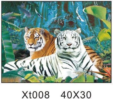 壁纸 动物 儿童画 虎 老虎 桌面 383_335
