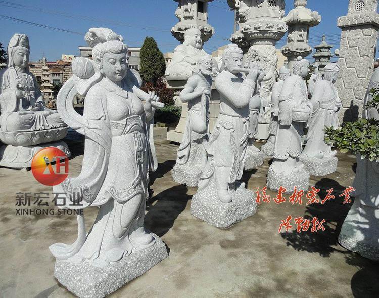 石雕八仙过海雕塑刻