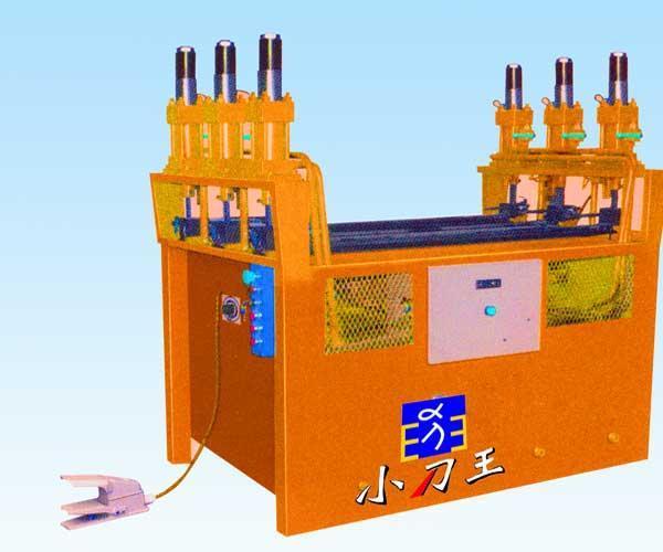 护栏数控液压管材冲孔机图片