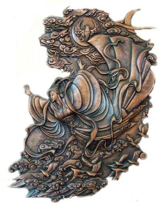 仿古青铜器,动物铜雕