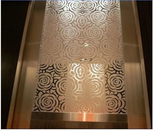 玫瑰金不锈钢蚀刻花纹板