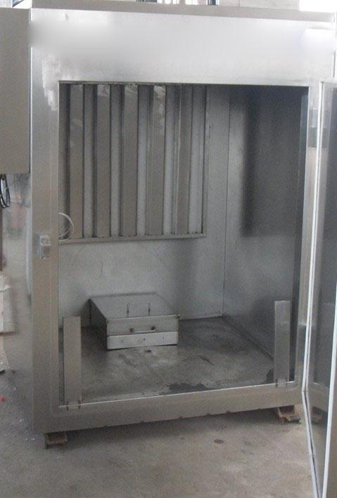 华钢系列烟熏炉采用不锈钢结构