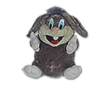 卡通小兔子站立简笔画